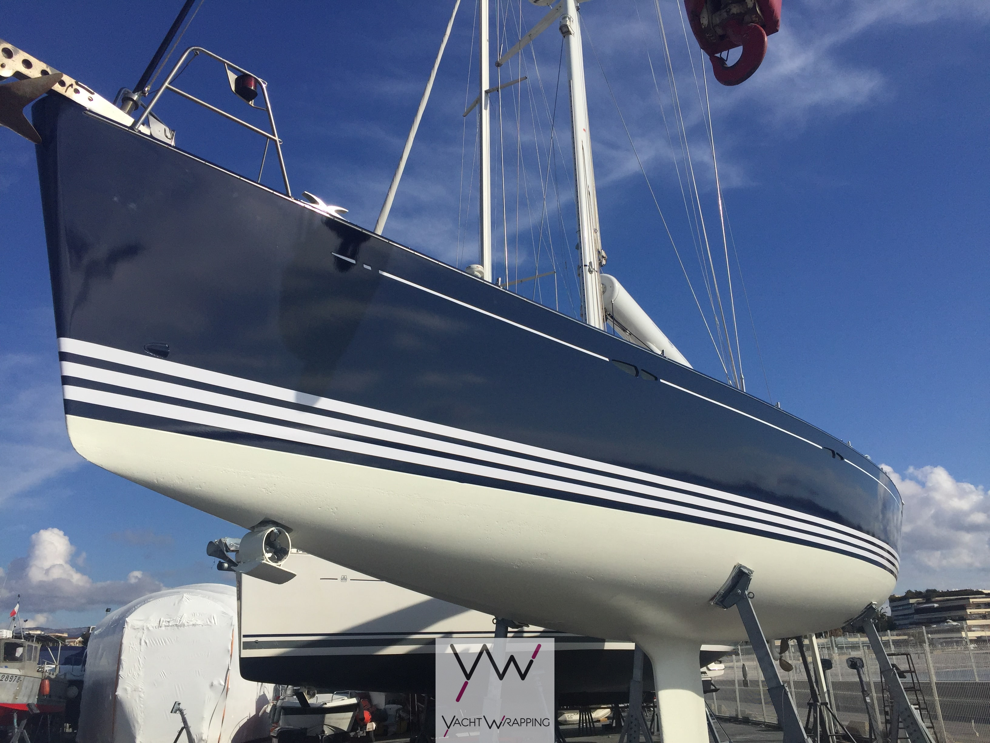 X Yacht 50 - Covering de coque